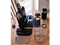 Nespresso Magimix CitiZ M190 Coffee Machine With Aeroccino Milk Frother
