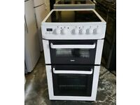 Zanussi ceramic electric cooker very good condition 50cm