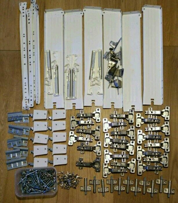 Kitchen Cabinet Hardware Job Lot. Hinges, Soft Closures, Brackets, Drawer  Runners,