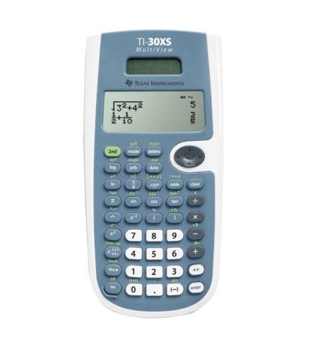 ti 30xs multiview powerful scientific calculator new