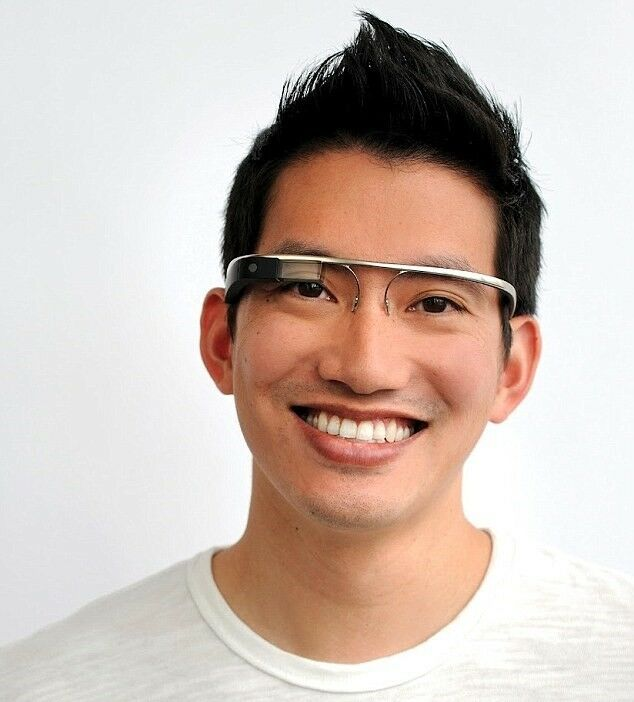 NEW Google Glass V2.0 Explorer Edition Charcoal Black Glasses - FREE SHADES V2