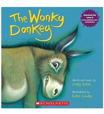 The Wonky Donkey By Craig Smith Paperback Children's Book FREE SHIPPING PREORDER
