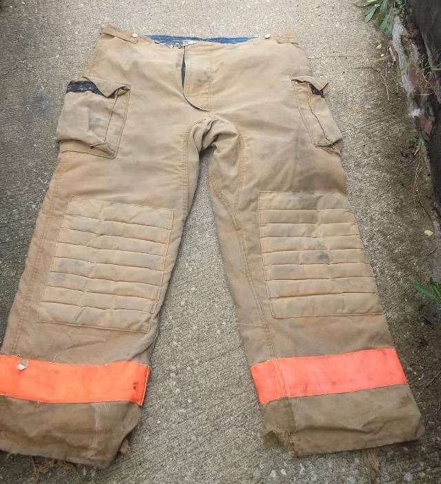 Morning Pride Firemans Turnout  Bunker Pants Gear 46/34 Globe Fire Dex Securitex