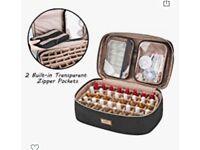 Nail polish storage bag pro nail tech