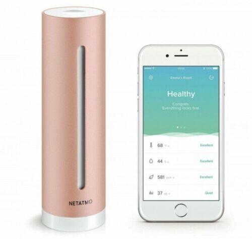 Netatmo Healthy Home Coach, sensor for indoor climate, for Apple HomeKit NHC-EC