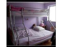 Three sleeper bunk bed