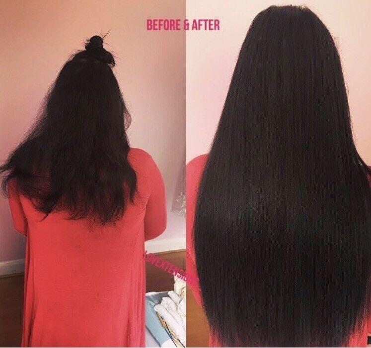 London Hair Extensionsfull Head Hair Extensions Microrings