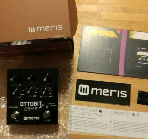 Meris Ottobit Jr. Stereo Bit Crusher/Filter/Stutter Guitar/Synth Pedal - Mint!