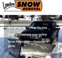 LONDON SNOW REMOVAL