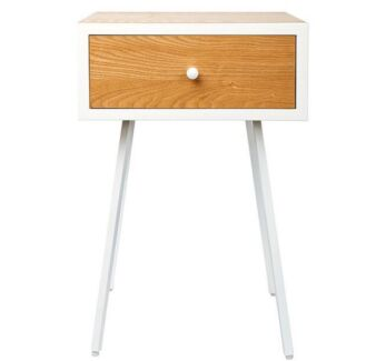 2x bedside table