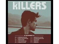 2 X Standing The Killers Tickets, Sheffield Arena
