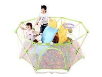 Foldable baby playpen, like new