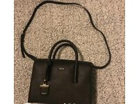 Woman's DKNY black handbag