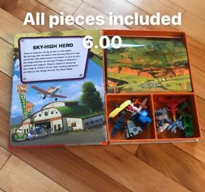 Book with toys all parts included