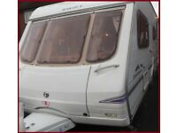 Swift Charisma 4 Berth Luxury Touring Caravan Ace Abbey Sterling Group No Offers