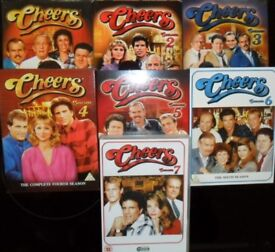 CHEERS SERIES 1 to 7 DVD PRISTINE UNMARKED..