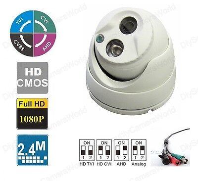 Cctv Dome Housing - CCTV Dome Camera HD 3.6 mm Wide Angle View Outdoor Matrix IR Metal Housing