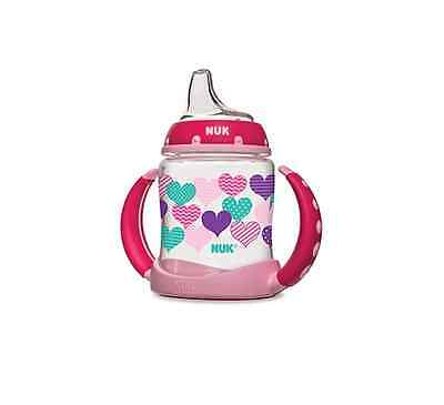 NUK Learner Cup with Silicone Spout, Assorted Colors 1 ea