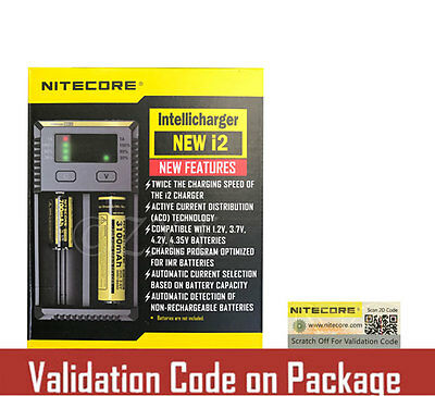 NEW 2016 NITECORE i2 Intellicharger Batter Charger 18650 14500 AAA Li-ion Ni-MH