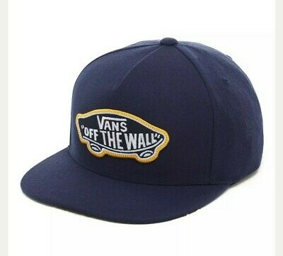 VANS Snapback Cap In Gold/Navy