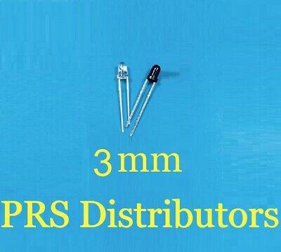 Infrared Led 3mm 940nm Ir Infrared Emitting Receiving Diode Us Seller