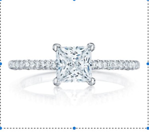 Tacori Petite Crescent Diamond Engagement Ring