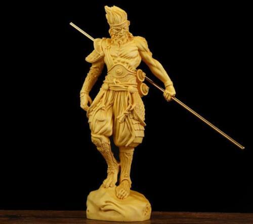 chinese folk art Yueqing boxwood carving figure: monkey king