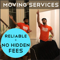 Cheap, Reliable + Last-Minute Moving Services - Within 24 Hours