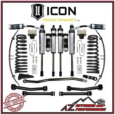 """ICON 2003-2008 Dodge Ram 2500 3500 4WD 4.5"""" Suspension System Stage 4"""