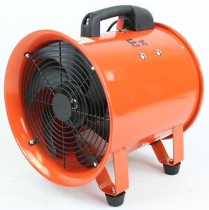 "12"" Ignition Resistant Fan with Ducting"
