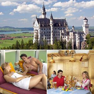 3 Tage Romantikwochenende Allgäu 4★ Wellness Hotel Füssen Kurzreise Kurzurlaub