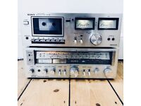 Sony Amplifier & Cassette Deck, Solid State