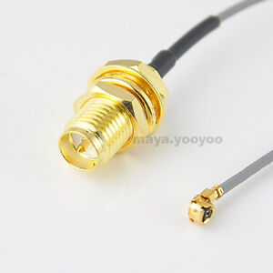 6in-6-U-FL-to-RP-SMA-female-male-pin-Pigtail-Cable-for-PCI-Wifi-Card