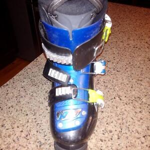 Child's Ski Boots and Skis for sale