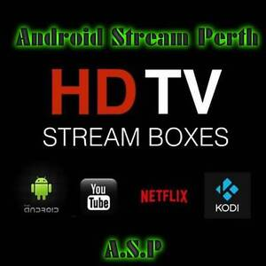 Android TV Stream Box Kodi Premium Build Free Support 12 month Belmont Belmont Area Preview