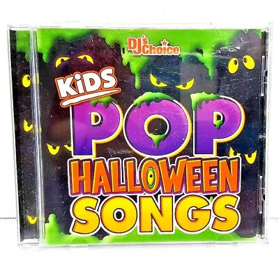 Kids Pop Halloween Songs by DJ's Choice CD 2003 Great Party Songs Free Shipping - Great Halloween Pop Songs