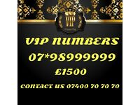 Vip Gold Mobile Number 98999999