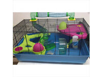 huge hamster heaven metro cage [ hamster/mouse/rat cage]