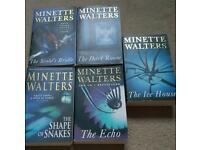 Minette Walters paper backs