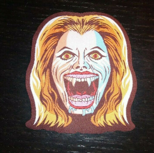 PATCH - Fright Night Vampire Amy - Horror Movie, 80s, woven horror patch