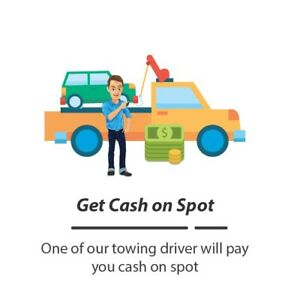 QUICK$CASH FOR ALL UNWANTED CARS FREE TOW 6476555556