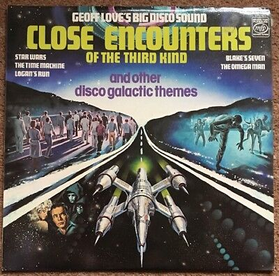 Geoff Love Close Encounters Disco Themes Vinyl LP Buy 5 LPs 4 £3.99 Post - Disco Themes