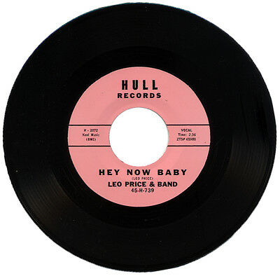 """LEO PRICE & BAND  """"HEY NOW BABY""""   MONSTER CLASSIC R&B     LISTEN!"""