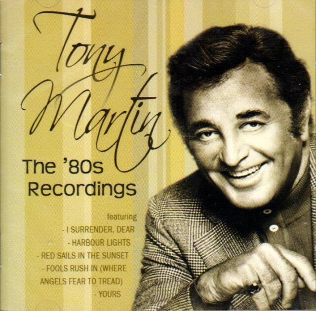 TONY MARTIN - THE 80`S RECORDINGS (NEW SEALED CD)