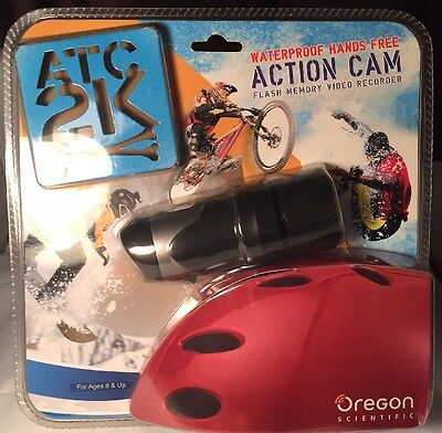 OREGON SCIENTIFIC ACTION CAM WATERPROOF HANDS FREE NEW BLISTER PACK