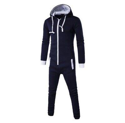 Jumpsuit Overall NEU Männer schwarz Gr. M Kostüm (Kostüm Schwarz Overall)