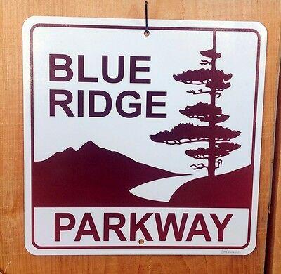 "Blue Ridge Parkway sign 9""x9"""