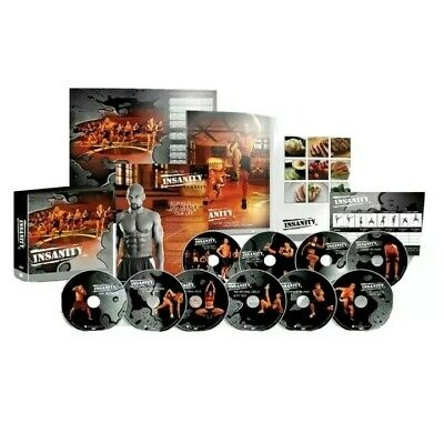 BeachBody Insanity Total Body Workout DELUXE EDITION!! Details in Description