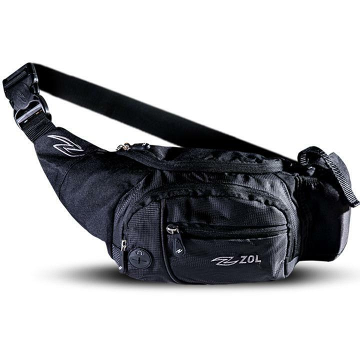 Zol Big Waist Bag Fanny Pack for Men and Women Belt Bags with Adjustable Strap
