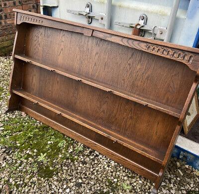 Reproduction Webber Solid Oak Dresser Top For Plates Pub Reception Etc Cw5